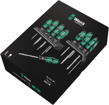 Kraftform Big Pack 300  - 05105630001 - Wera Tools