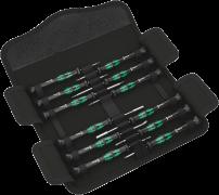 Jeu de tournevis électronicien Kraftform Micro 12 Electronics  - 05073677001 - Wera Tools