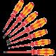 160 iS/7 Jeu de tournevis Kraftform Plus Série 100 VDE  - 05006480001 - Wera Tools