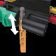 950/7 Hex-Plus Multicolour Magnet 1 Jeu magnétique de clés mâles coudées, syst. métrique, BlackLaser  - 05022534001 - Wera Tools