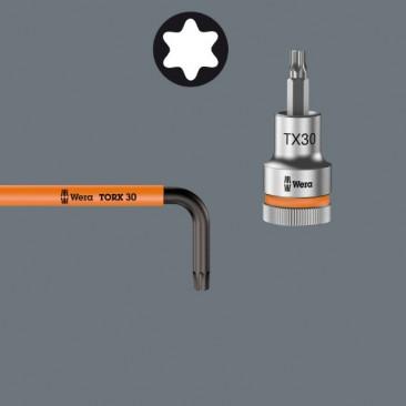 967/9 TX XL Multicolour 1 Jeu de clés mâles coudées TORX® Multicolour  - 05024480001 - Wera Tools