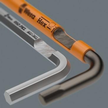 950/9 Hex-Plus Multicolour 1 SB Multicolour Jeu de clés mâles coudées, syst. métrique, BlackLaser  - 05073593001 - Wera Tools