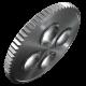 """8004 C Cliquet Zyklop Metal avec levier d'inversion, emmanchement 1/2""""  - 05004064001 - Wera Tools"""