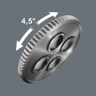 """Cliquet Zyklop VDE 8007 B, isolé, avec inverseur, carré 3/8""""  - 05004966001 - Wera Tools"""
