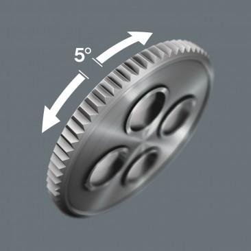"""8100 SA/SC 2 Jeu cliquets Zyklop Speed à emmanchements 1/4"""" et 1/2"""", métrique  - 05160785001 - Wera Tools"""