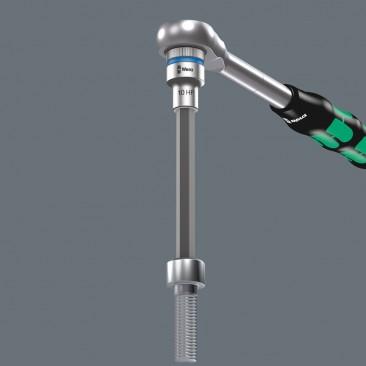 8740 C HF 2 Zyklop Jeu de douilles à embout à six pans creux avec fonction de retenue, à emmanchement 1/2''  - 05004210001 - ...