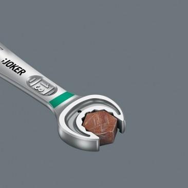 Jeu de clés mixtes à cliquet Joker 6000, syst. impérial, 4 pièces  - 05073295001 - Wera Tools