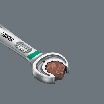 Jeu de clés mixtes à cliquet Joker, syst. impérial à inversion, 4 pièces  - 05020092001 - Wera Tools