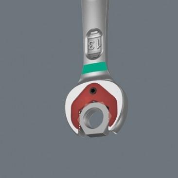 Jeu de clés mixtes à cliquet Joker 6001, syst. impérial à inversion, 8 pièces  - 05020093001 - Wera Tools