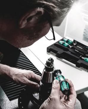"""300 Hex Tournevis à serrage contrôlé, manche """"pistolet"""" 5.0 Nm  - 05027913001 - Wera Tools"""