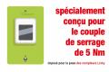 """400 i VDE – Indicateur de couple Manche en """"T""""  - 05004980001 - Wera Tools"""