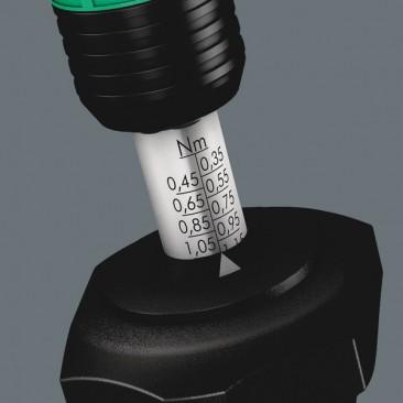 Série 7400 Kraftform, Tournevis dynamométrique réglable (2,5-29,0 in. lbs.)  - 05074710001 - Wera Tools