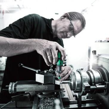 """Série 7400 Kraftform, Tournevis dynamométrique réglable (25,0-55,0 in. lbs.), manche """"pistolet""""  - 05074712001 - Wera Tools"""