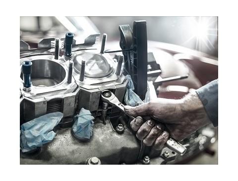 """8003 C Cliquet Zyklop Metal avec carré mâle traversant, emmanchement 1/2""""  - 05004063001 - Wera Tools"""
