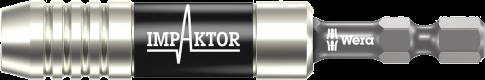 """897/4 IMP Porte-embouts Impaktor avec jonc d'arrêt et aimant, 1/4"""" x 75 mm  - 05057675001 - Wera Tools"""