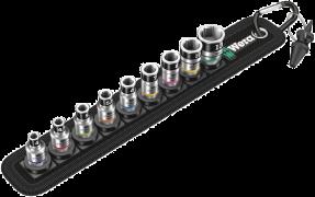 """Belt A 1 Jeu de douille-embouts Zyklop 1/4"""" avec fonction de retenue  - 05003880001 - Wera Tools"""