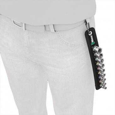 "Belt A 4 Jeu de douilles Zyklop 1/4""  - 05003883001 - Wera Tools"