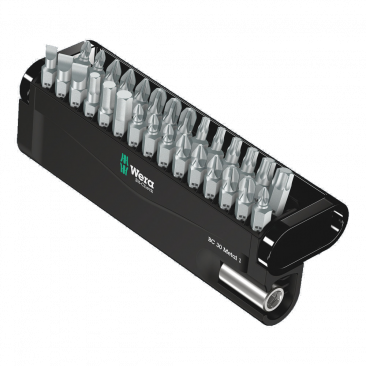 Bit-Check 30 Metal 1  - 05057434001 - Wera Tools