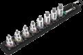 """Belt B 2 Jeu de douille-embouts Zyklop 3/8"""" pour vis six pans creux avec fonction de retenue, 8 pièces  - 05003971001 - Wera ..."""