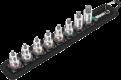 """Belt B Imperial 1 Jeu de douille-embouts Zyklop 3/8"""" pour vis six pans creux avec fonction de retenue, 8 pièces  - 0500397400..."""