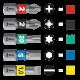 Bit-Check 6 PZ Diamond 1  - 05057402001 - Wera Tools