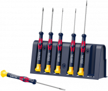 2035/6 A Rack RBR Jeu de tournevis électronicien + Rack  - 05227720001 - Wera Tools