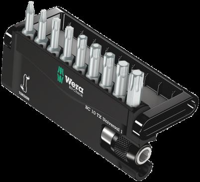 Bit-Check 10 TX Universal 1  - 05056164001 - Wera Tools
