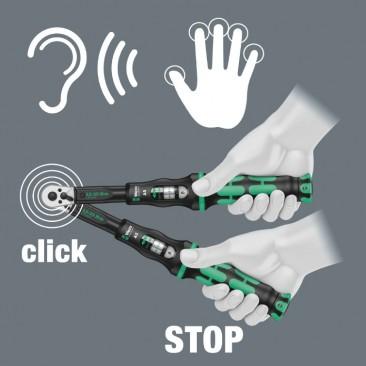 Clé dynamométrique à cliquet Click-Torque B1  - 05075610001 - Wera Tools