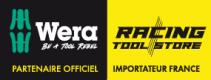 Belt B (sangle textile porte-outils), pour 8 outils, sans garniture  - 05003980001 - Wera Tools
