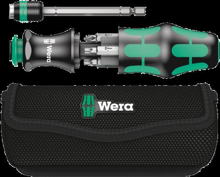 Kraftform Kompakt 22 avec pochette  - 05051023001 - Wera Tools