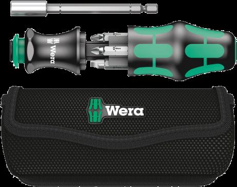 Kraftform Kompakt 28 avec pochette  - 05134491001 - Wera Tools