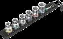 """Belt C 1 Jeu de douilles Zyklop 1/2"""" avec fonction de retenue  - 05003995001 - Wera Tools"""