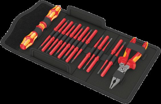 Kraftform Kompakt VDE 16 extra slim 1, 17 pièces  - 05136027001 - Wera Tools
