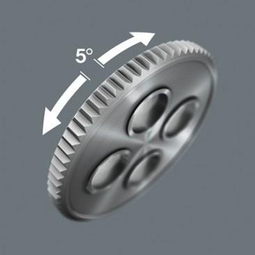 """8100 SB 6 Jeu cliquet Zyklop Speed, à emmanchement 3/8"""", métrique  - 05004046001 - Wera Tools"""