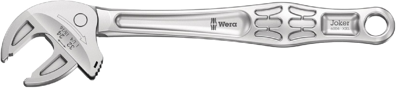 6004 Clé à fourche auto-ajustable Joker XXL  - 05020102001 - Wera Tools