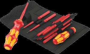 Kraftform Kompakt Turbo i 1 VDE, 16 pièces  - 05057484001 - Wera Tools - Extra slim - Pour visser 4 fois plus vite