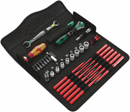 Kraftform Kompakt W 2 Maintenance Personnalisable  - 05135870999 - Wera Tools