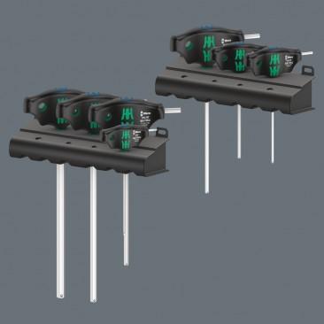 454/10 HF Set Imperial 1 Jeu de tournevis Hex-Plus à manche en T avec fonction de retenue, système impérial  - 05023451001 - ...