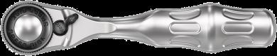 """8008 A Cliquet Zyklop Mini 3 à emmanchement 1/4""""  - 05003793001 - Wera Tools"""