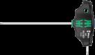 454 Tournevis hexagonal à manche en T Hex-Plus  - 05023330001 - Wera Tools