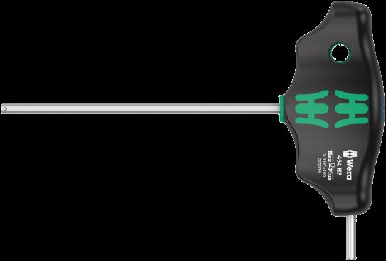 454 HF Tournevis hexagonal à manche en T Hex-Plus avec fonction de retenue  - 05023340001 - Wera Tools