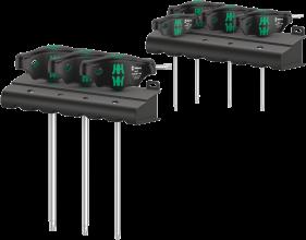 4677 TORX® HF Set 1 Jeu de tournevis TORX® à manche en T avec fonction de retenue