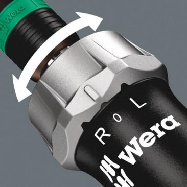 "816 RA Tournevis à cliquet, 1/4"" x 142 mm  - 05051461001 - Wera Tools"