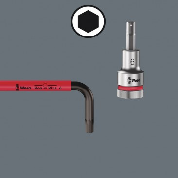 950/9 Hex-Plus Multicolour 2 Jeu de clés mâles coudées, syst. métrique, BlackLaser  - 05133164001 - Wera Tools