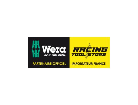 932/6 Jeu de tournevis Kraftform Wera : le tournevis-burin + Rack  - 05018282001 - Wera Tools