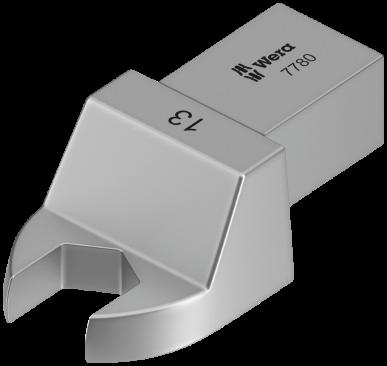 Clé à fourche interchangeable 7780 Forme A  - 05078670001 - Wera Tools