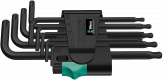 967/9 TX 1 SB Jeu de clés mâles coudées TORX®, BlackLaser  - 05073598001 - Wera Tools