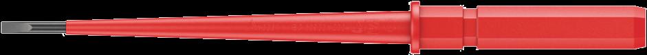 Kraftform Kompakt VDE 60 i - 05003400001 - Wera Tools - Lames interchangeables WERA VDE
