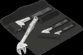 6004 Joker 4 Set 1 Jeu de clés à fourche auto-ajustables, 4 pièces  - 05020110001 - Wera Tools