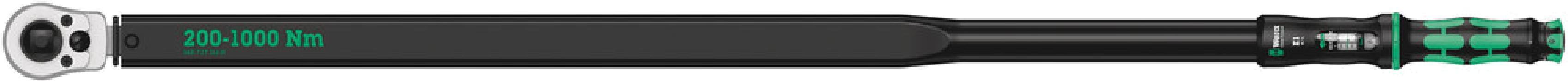 Clé dynamométrique à cliquet Click-Torque E1 Push R/L  - 05075631001 - Wera Tools